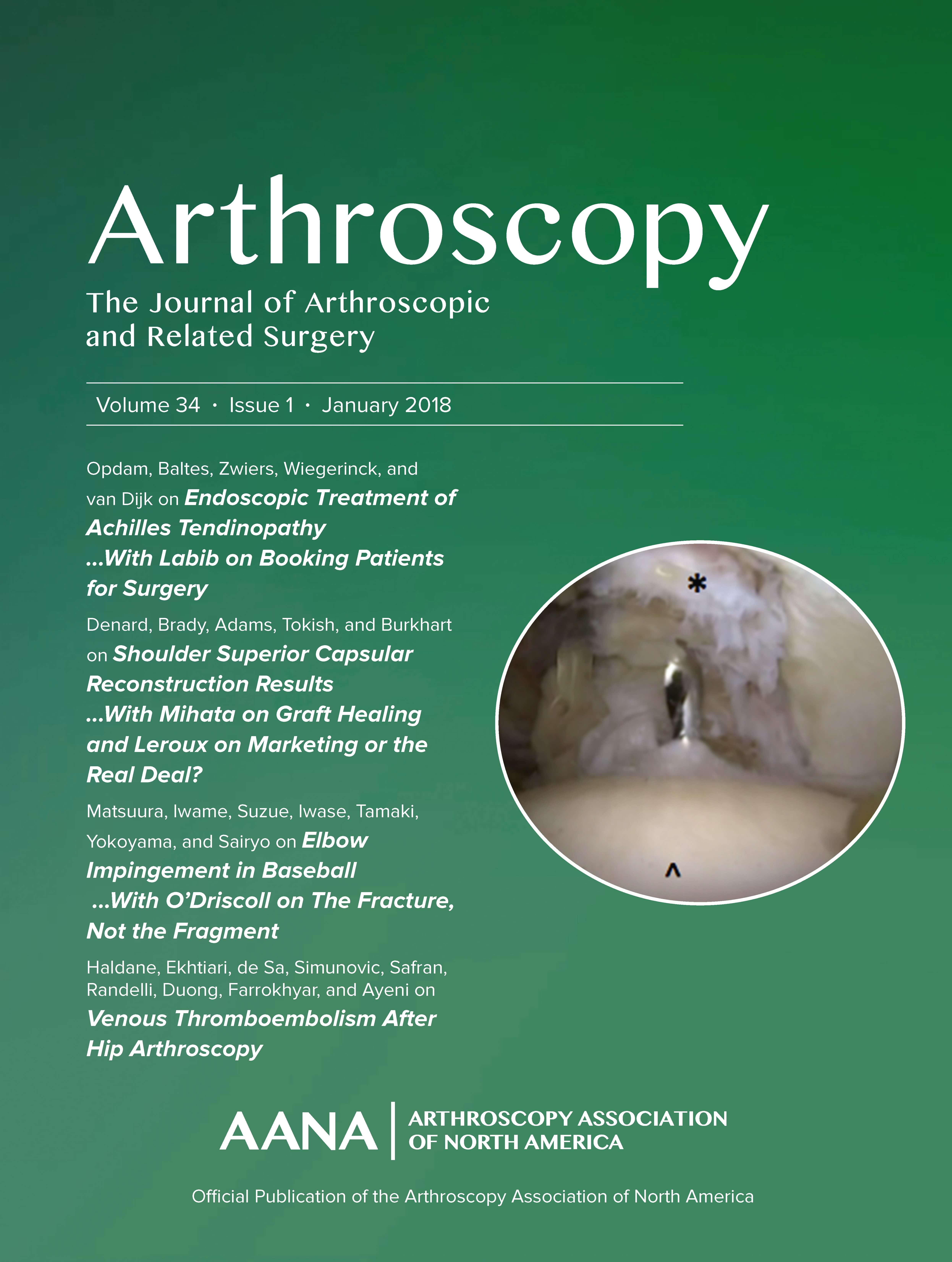 Arthroscopy Cover